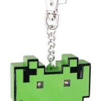 space invaders light up keychain