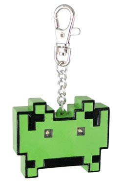 space invaders light up keychain Space Invaders Light Up Keychain