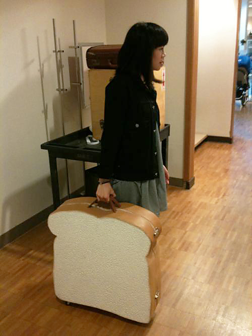 bread suitcase Bread Suitcase is Probably Jam Packed