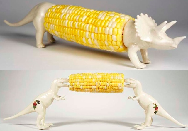 Dinosaur Corn Holders
