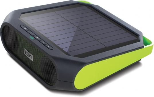 Eton Rukus Solar Powered Wireless Bluetooth Speaker