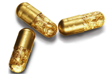 Eat Gold Pills, Feel Richer