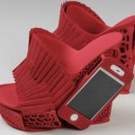 iPhone Holding High Heel Shoe