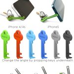 KeyProp: A Key-Sized Smartphone Stand