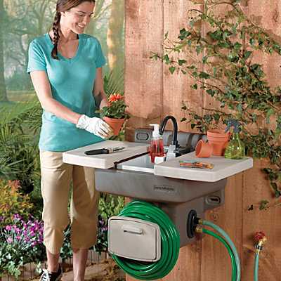 Outdoor Garden Sink Craziest Gadgets