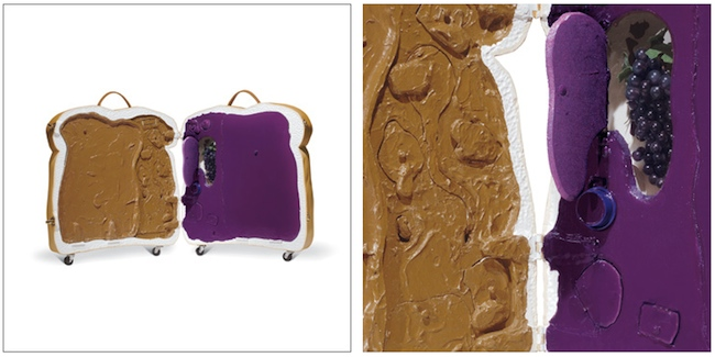pb j suitcase Bread Suitcase is Probably Jam Packed