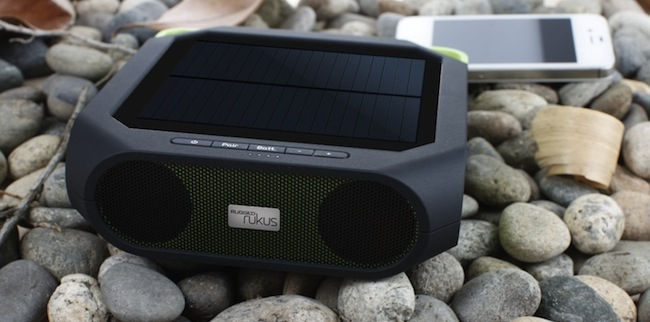 Eton Rukus Solar Powered Wireless Bluetooth Speaker