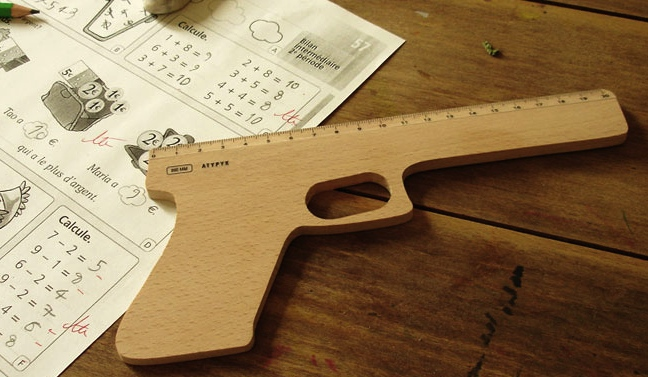 Ruler Gun Craziest Gadgets