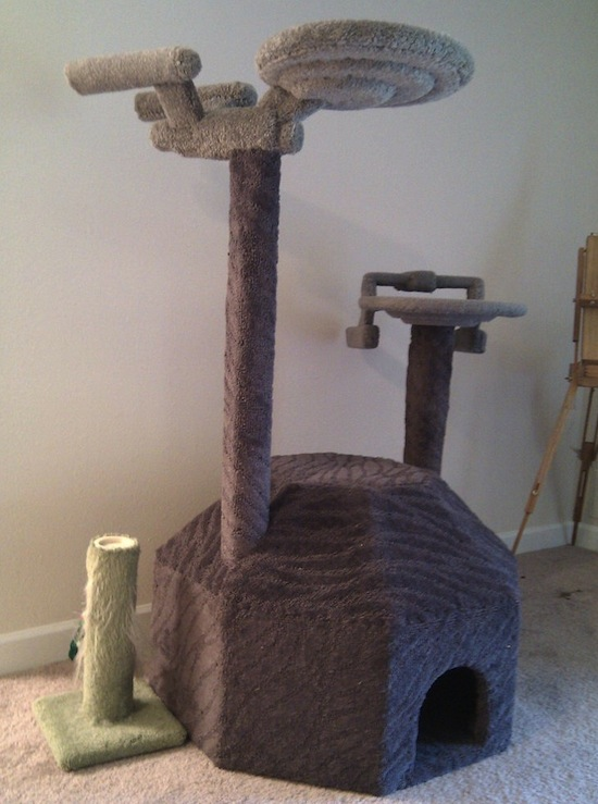 Star Trek Enterprise Cat Tree