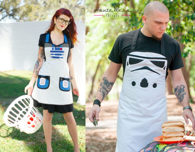 Star Wars Inspired Cooking Aprons