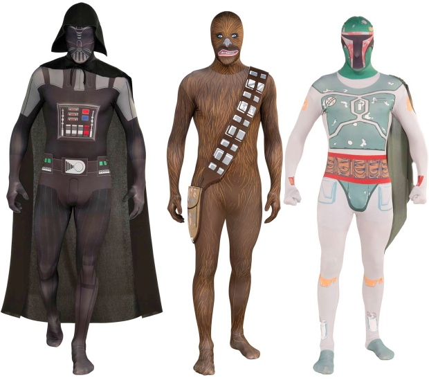 Creepy Skin Tight Star Wars Costumes