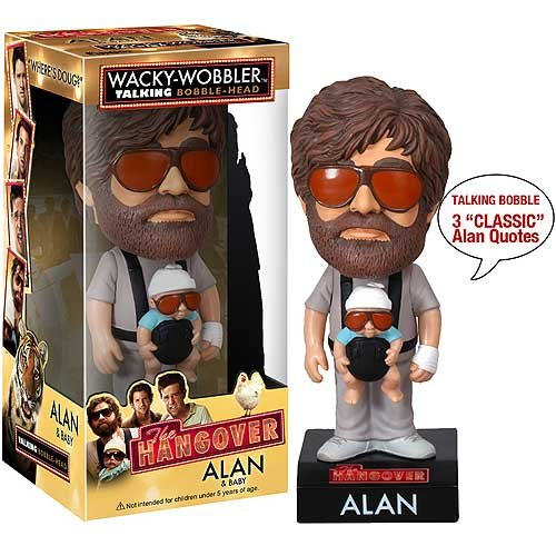 The Hangover Bobblehead: Alan with Baby