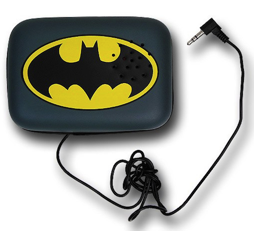 Batman Symbol Belt Buckle Speaker
