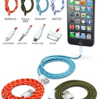 braided fabric cables