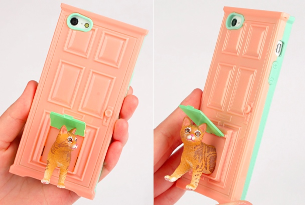 cat door iphone case Pet Door iPhone Cases