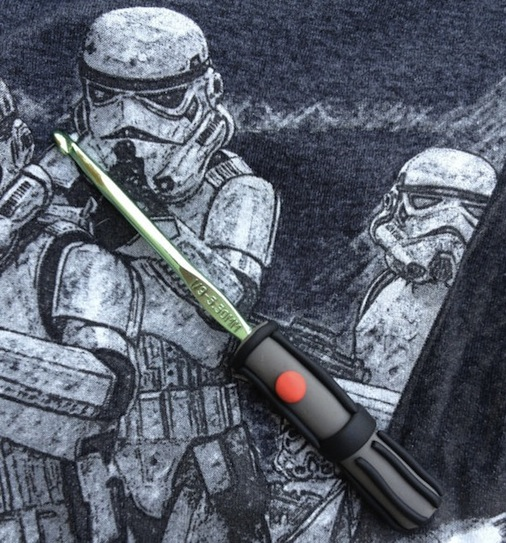 Use the Force: Lightsaber Crochet Hook
