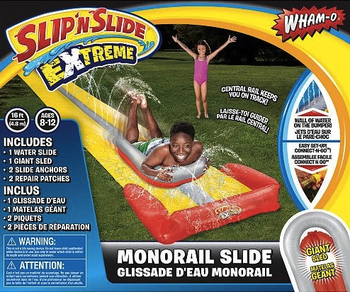 monorail water slide Monorail! Wham O Monorail Water Slide