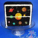 Solar System INSIDE a Cake