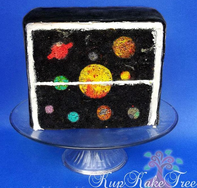 Planet Cake Images : Pin Solar System Planet Cake For Wim Maki Cakes Cake on ...