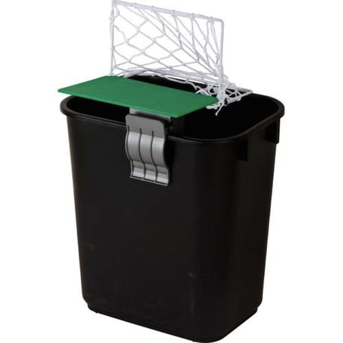 Cheering Soccer Net Garbage Can Topper