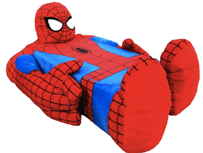 spiderman bed Coolest Bed Ever: Spider Man Bed