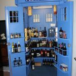 Doctor Who TARDIS Liquor Cabinet