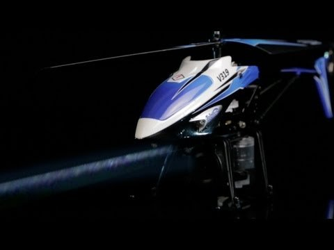 Water Spraying RC Helicopter
