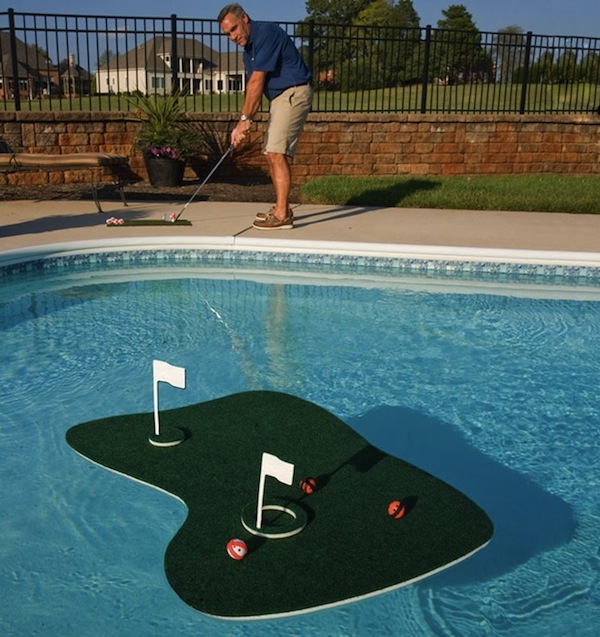 Aqua Golf Is A Backyard Water Hole Craziest Gadgets