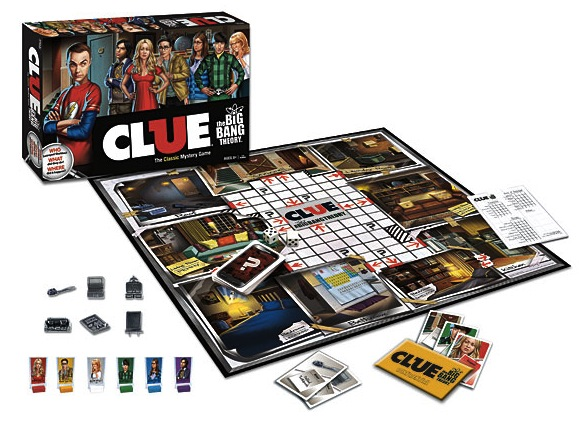 big bang theory clue The Big Bang Theory Clue Board Game