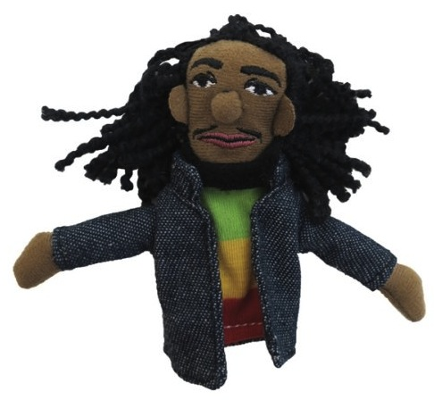 Bob Marley Magnetic Puppet