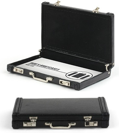 Mini Briefcase Business Card Holder