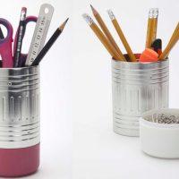 eraser pencil cup