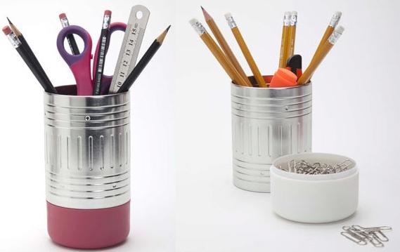 Pencil Eraser Pencil Cup
