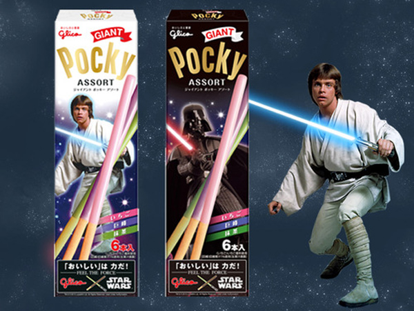 Giant Lightsaber Pocky: Snack Like a Jedi