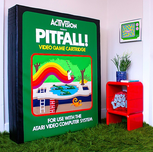 hand sewn pitfall cartridge Pinboard