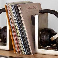 headphone bookends