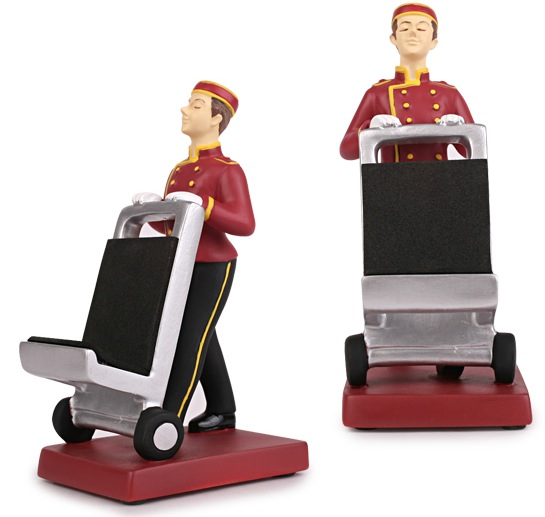 Hotel Porter Phone Stand