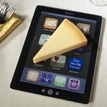 Cut the Cheese on your iPad Cutting Board