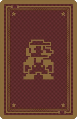 mario cards back 8 Bit Super Mario Bros. Playing Cards