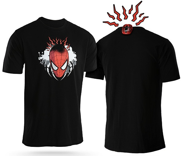 spidey sense shirt Spidey Sense Shirt Vibrates When Someones Behind You