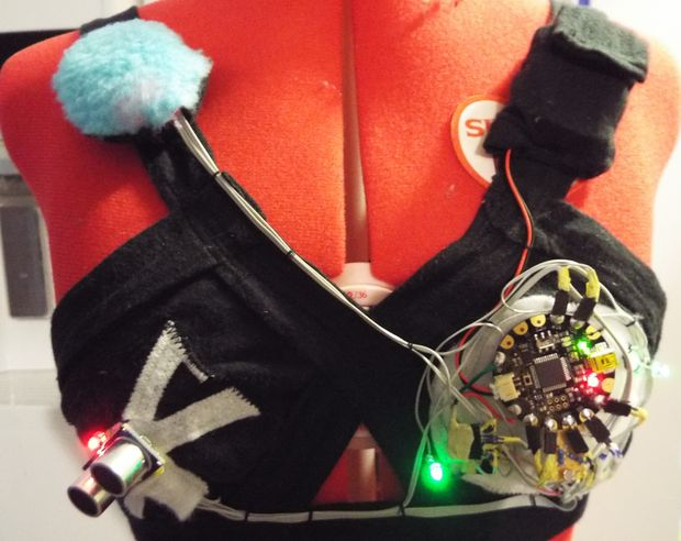 DIY Musical Light-Up LED Star Wars Bra