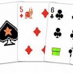 8 Bit Super Mario Bros. Playing Cards