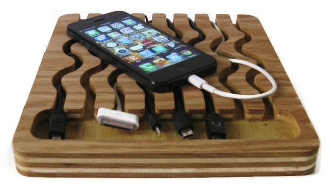 Universal Docking Station Holds All Your Cords