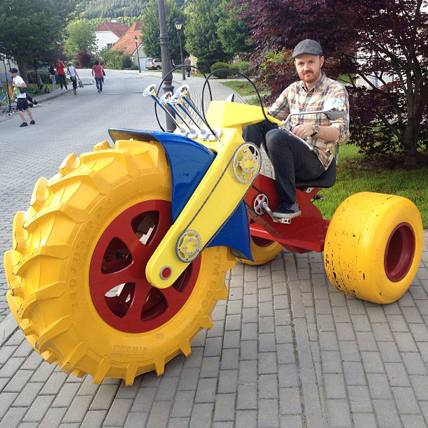 Grown Up Toys And Gadgets : Big wheels for adults craziest gadgets