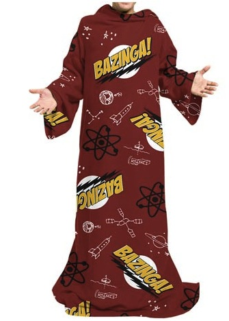 The Big Bang Theory Snuggie