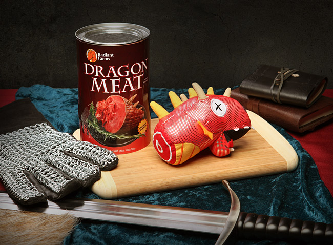 canned dragon meat Pinboard