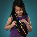Crayon Bandolier Belt: Armed and Colorful