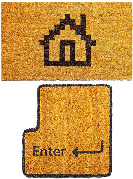 Geeky enter and home doormats craziest gadgets - Geeky doormats ...
