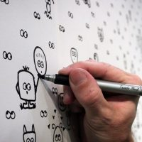 Googly Eye Wallpaper Lets You Draw Your Own Characters