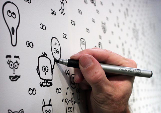 i see you wallpaper Googly Eye Wallpaper Lets You Draw Your Own Characters